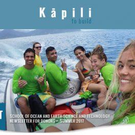 Kapili Summer 2017 banner image