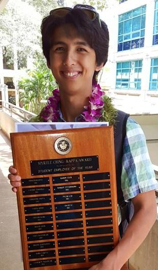 Tyler Lum, Student Employee of the Year