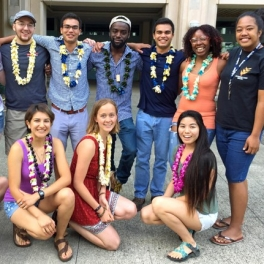 Earth Science on Volcanic Islands 2017 cohort.