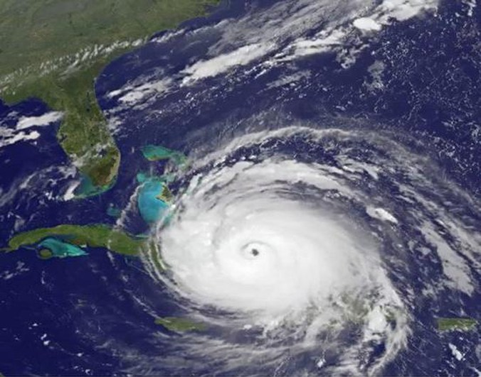 NOAA image of Hurricane Irma
