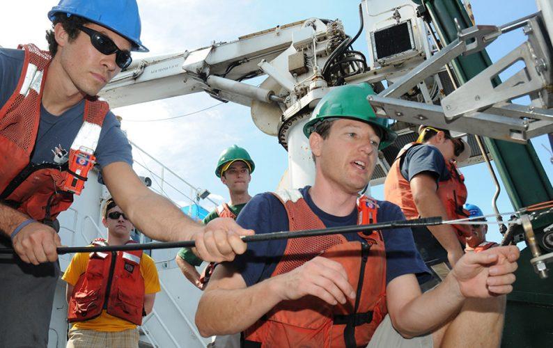 Oceanography professor Jeffrey Drazen