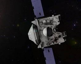 Artist's concept of NASA's OSIRIS-REx spacecraft