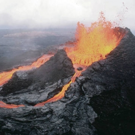 eruption at the Puu Oo vent.