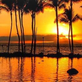 Sunset image courtesy of KITV4.