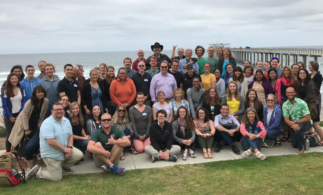 """Squid – Vibrio System 30th anniversary at Scripps Institution of Oceanography, a gathering of the """"academic family."""""""
