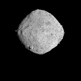 An image of the asteroid Bennu taken by the Osiris-Rex spacecraft Nov. 16, 2018. Credit:NASA/Goddard/University of Arizona