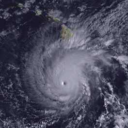 Hurricane Lane 2018 (Credit: NOAA)