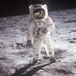 Image of astronaut Buzz Aldrin courtesy of NASA.