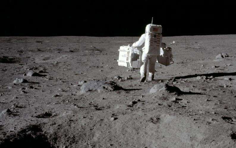 image of astronaut, Apollo 11. Credit: NASA.