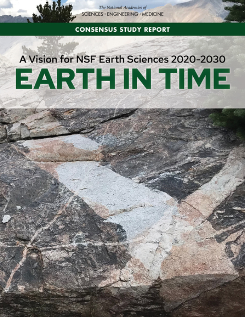 Vision for NSF Earth Sciences 2020-2030: Earth in Time . Credit: National Academies Press.