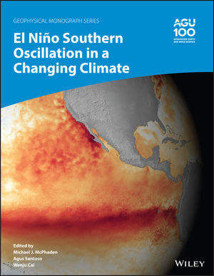 "Cover of new book ""El Niño Southern Oscillation in a Changing Climate"""