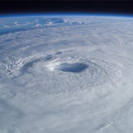 Hurricane Isabel visible from space
