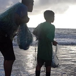 Sea Grant Voice of the Sea subsistence fishing episode.