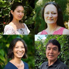 Clockwise from top left: Alyssa Anderson, Hope Ishii, Garrett Ito, Melissa Iwamoto.